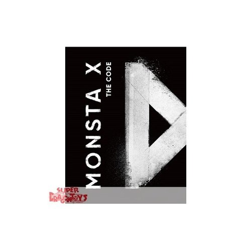 "MONSTA X - THE CODE - ""PROTOCOL TERMINAL"" VERSION - 5TH MINI ALBUM"