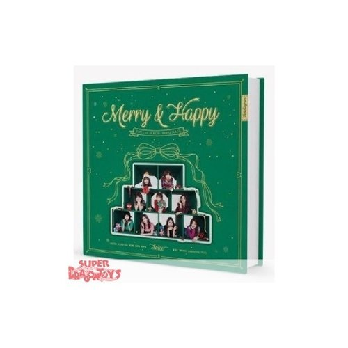 "TWICE - MERRY & HAPPY - ""MERRY"" VERSION - 1ST REPACKAGE ALBUM"