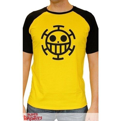 "ONE PIECE - T-SHIRT ""TRAFALGAR LAW"" JAUNE"
