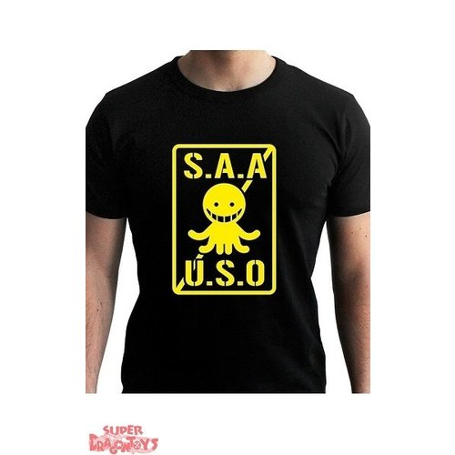 "ABYSSE CORP. ASSASSINATION CLASSROOM - T-SHIRT ""S.A.A.U.S.O"""