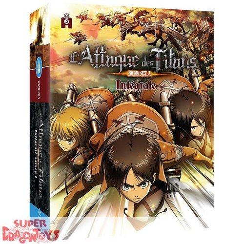 ATTAQUE DES TITANS - SAISON 1 - INTEGRALE - DVD BOX