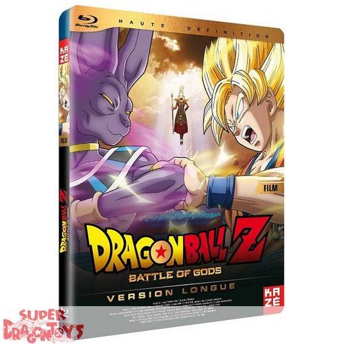KAZE VIDEO DRAGON BALL Z - MOVIE : BATTLE OF GODS - VERSION LONGUE - BLU RAY