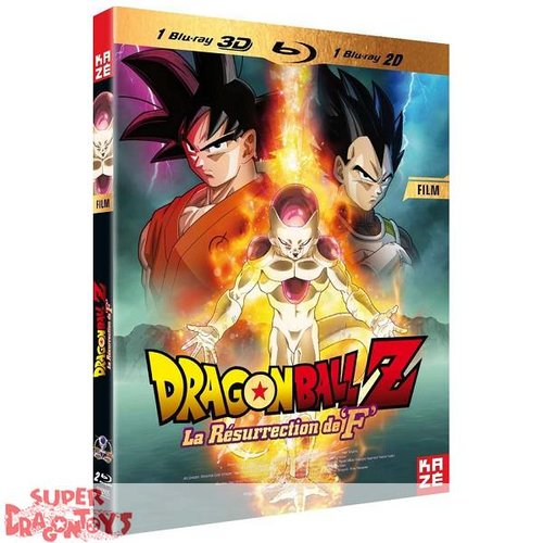 DRAGON BALL Z - FILM : LA RESURRECTION DE F - BLU RAY [3D + 2D]