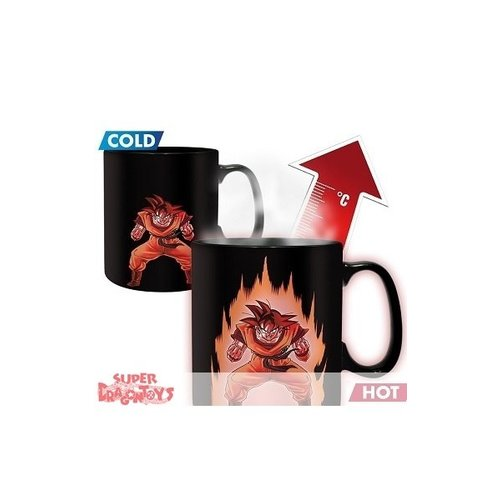 "DRAGON BALL Z - MUG MAGIQUE THERMO REACTIF ""GOKU"""