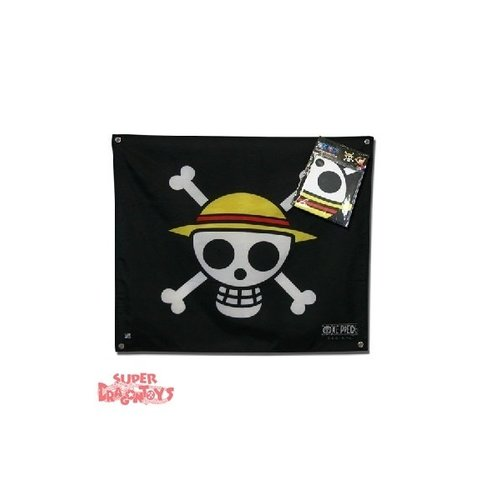 "ONE PIECE - DRAPEAU ""SKULL WITH MAP"""
