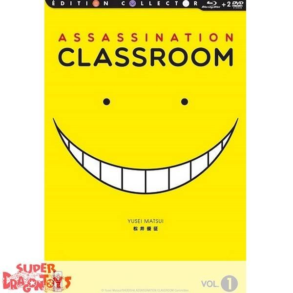 ASSASSINATION CLASSROOM - COFFRET 1 - EDITION COLLECTOR COMBO DVD + BLU RAY