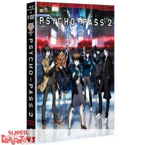 KANA HOME VIDEO PSYCHO-PASS - SAISON 2 - BOX 1 - EDITION LETALE COMBO DVD + BLU RAY