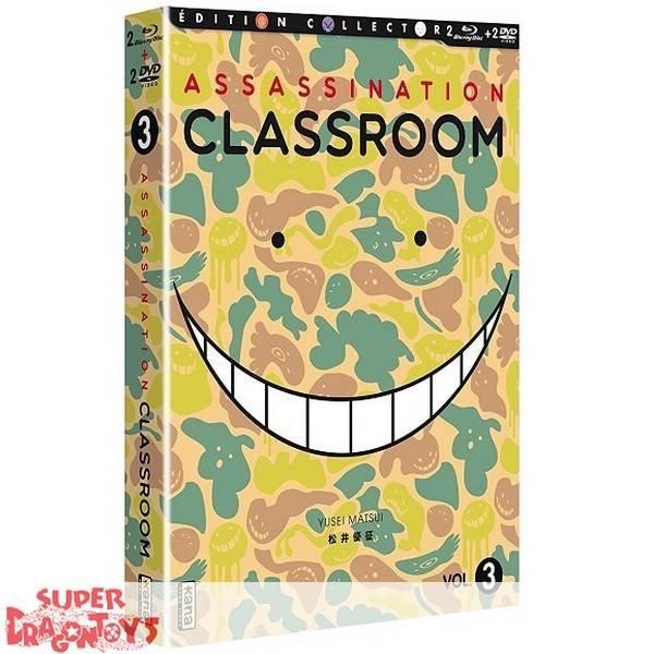 KANA HOME VIDEO ASSASSINATION CLASSROOM - BOX 3 - COMBO DVD + BLU RAY