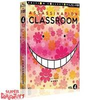 ASSASSINATION CLASSROOM - BOX 4 - COMBO DVD + BLU RAY