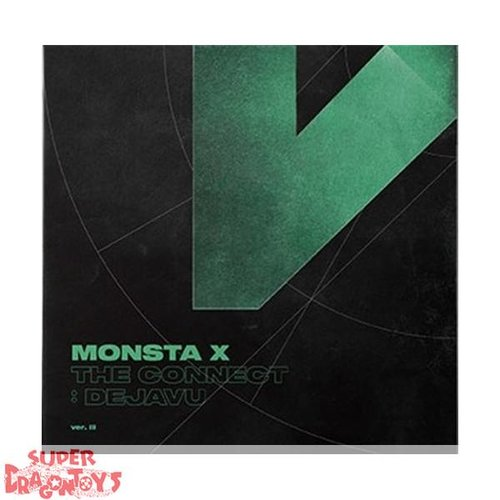 "MONSTA X - THE CONNECT : DEJA VU - VERSION ""III"" - 6TH MINI ALBUM"