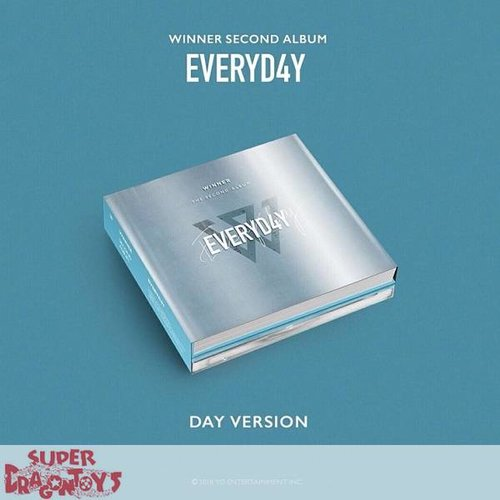 "WINNER - EVERYD4Y - ""DAY"" VERSION - 2ND ALBUM"