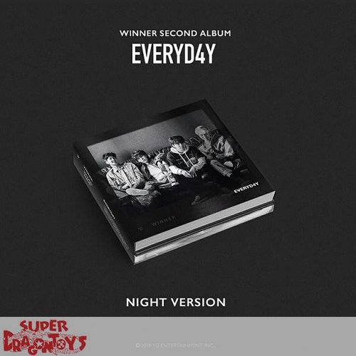 "WINNER - EVERYD4Y - ""NIGHT"" VERSION - 2ND ALBUM"