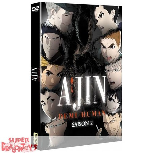 KANA HOME VIDEO AJIN : DEMI-HUMAN - SAISON 2 - INTEGRALE - COFFRET DVD