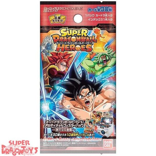 "BANDAI SUPER DRAGON BALL HEROES - ULTIMATE BOOSTER PACK ""NEW FIERCE BATTLE"" - JAPANESE EDITION"