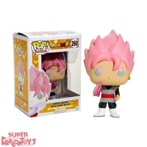 DRAGON BALL SUPER - SUPER SAIYAN ROSE GOKU BLACK - FUNKO POP LIMITED EDITION