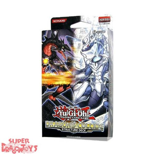 "KONAMI YUGIOH TCG - STRUCTURE DECK ""DRAGONS COLLIDE"" - ENGLISH EDITION"