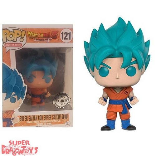 FUNKO  DRAGON BALL Z - SUPER SAIYAN GOD SUPER SAIYAN GOKU - FUNKO POP EXCLUSIVE