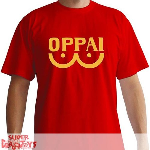 "ABYSSE CORP. ONE PUNCH MAN - T-SHIRT ""OPPAI"" [RED COLOR]"
