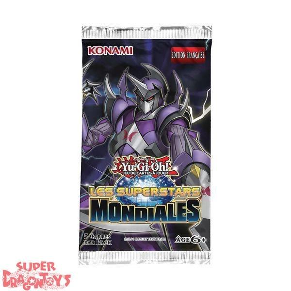 "KONAMI YUGIOH TCG - BOOSTER ""LES SUPERSTARS MONDIALES"" - EDITION FRANCAISE"
