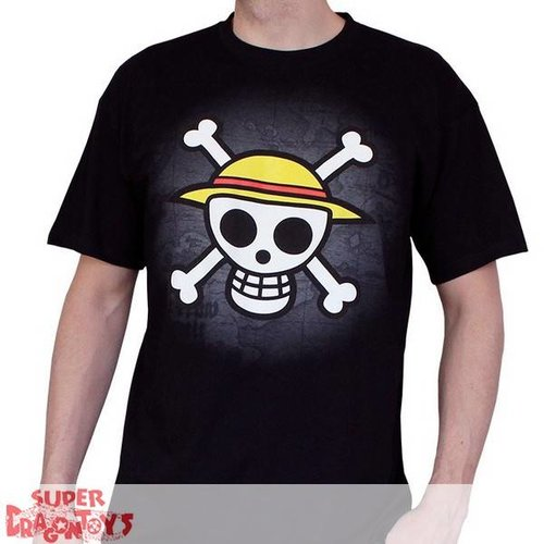 "ABYSSE CORP. ONE PIECE - TSHIRT ""SKULL  WITH MAP"" - NEW FIT"