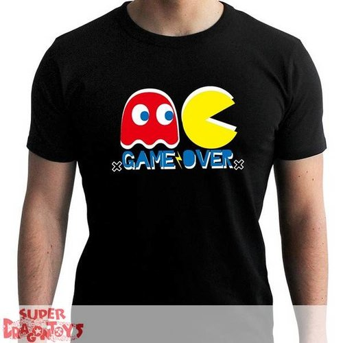 "ABYSSE CORP. PAC-MAN - TSHIRT ""GAME OVER"" - NEW FIT"