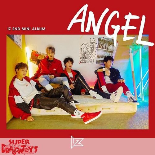 IZ - ANGEL - 2ND MINI ALBUM