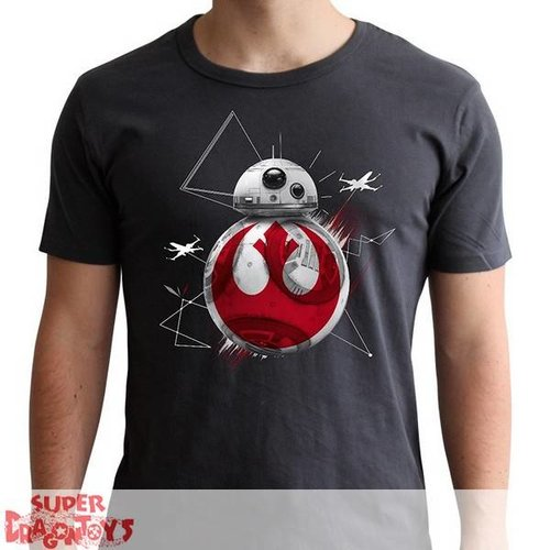 "ABYSSE CORP. STAR WARS - TSHIRT ""BB8 E8"" - NEW FIT"