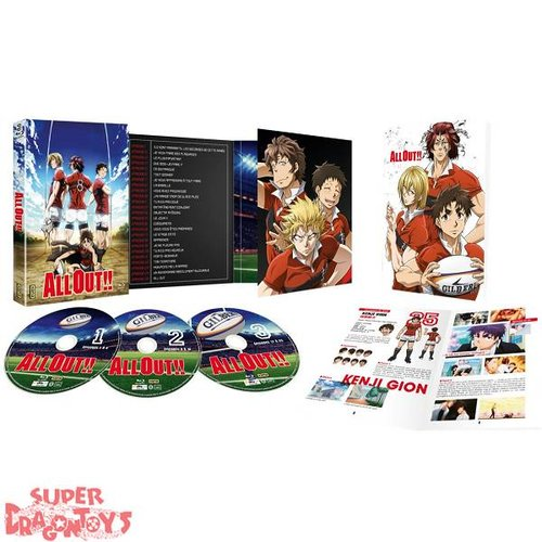 ALL OUT - INTEGRALE - COFFRET BLU RAY