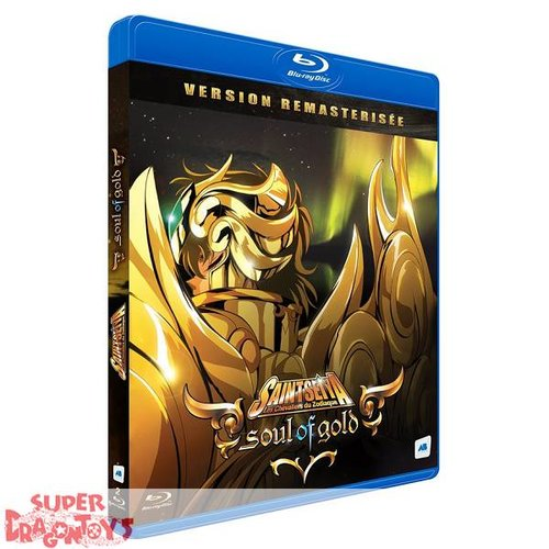 AB VIDEO SAINT SEIYA - SOUL OF GOLD - INTEGRALE - COFFRET BLU RAY