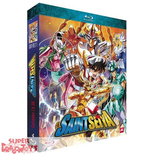 SAINT SEIYA - SERIE TV PART 1 [ARC : LA RECONQUETE DE L'ARMURE D'OR] - COFFRET BLU RAY