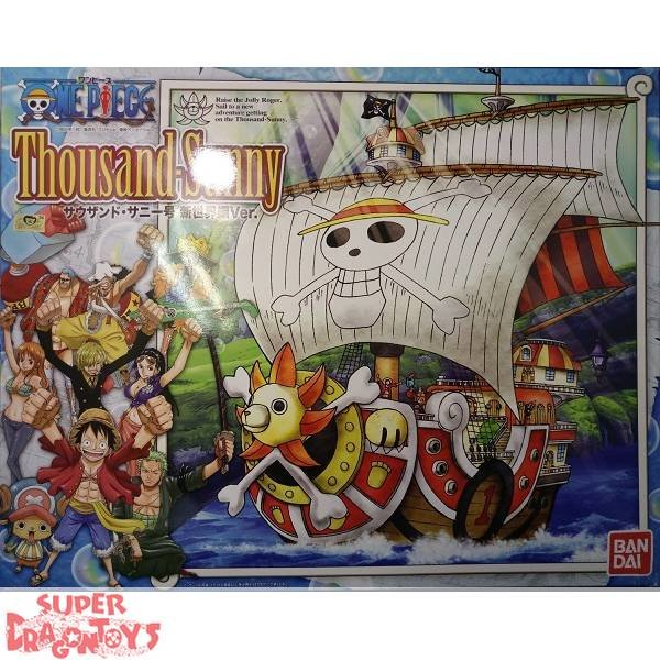 "ONE PIECE - THOUSAND SUNNY [NEW WORLD VERSION] - ""SHIP COLLECTION"" MODEL KIT"