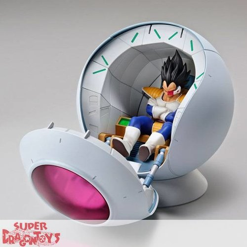 "BANDAI DRAGON BALL Z - VEGETA & SAIYAN SPACE POD - ""FIGURE RISE STANDARD"" MODEL KIT"