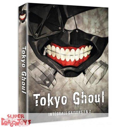 TOKYO GHOUL - INTEGRALE SAISONS 1 & 2 - COFFRET DVD