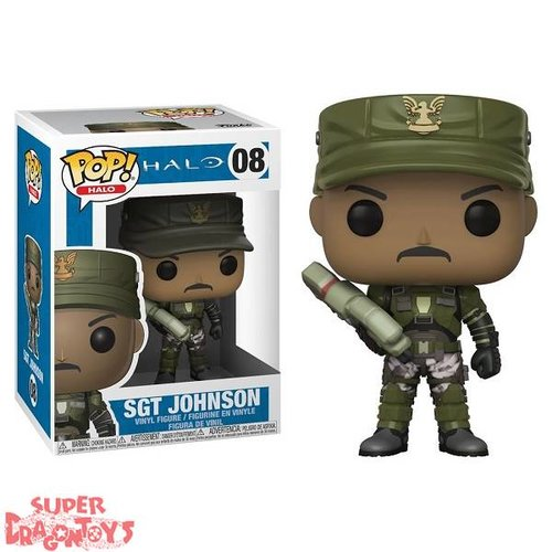 FUNKO  HALO - SGT JOHNSON - FUNKO POP