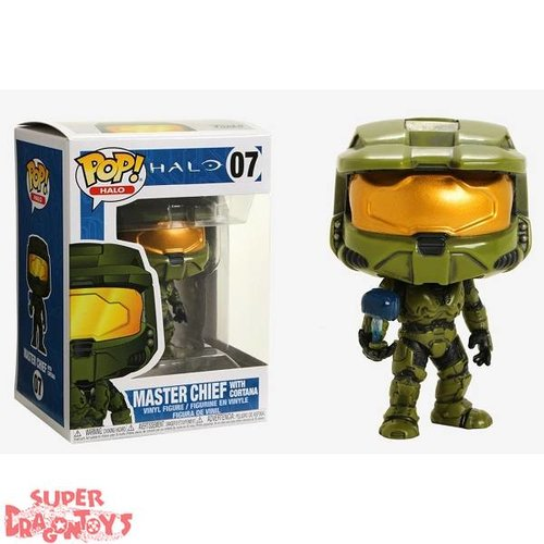 FUNKO  HALO - MASTER CHIEF [WITH CORTANA] - FUNKO POP