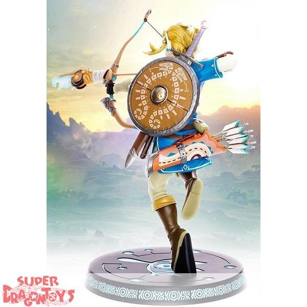 "LEGEND OF ZELDA ""BREATH OF THE WILD"" - LINK - [10"" PVC] PAINTED STATUE"