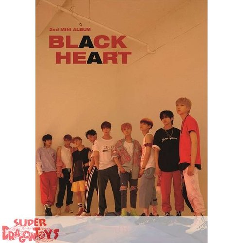 UNB - BLACK HEART - [BLACK] VERSION - 2ND MINI ALBUM