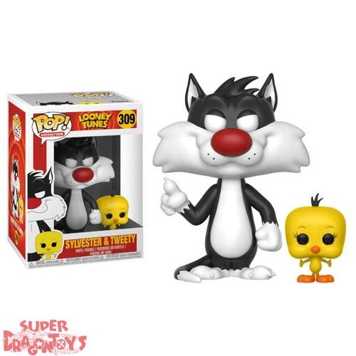 LOONEY TUNES - SYLVESTER & TWEETY - FUNKO POP