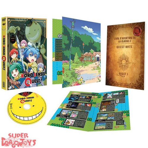 KANA HOME VIDEO ASSASSINATION CLASSROOM : KORO SENSEI QUEST ! - INTEGRALE - COFFRET DVD