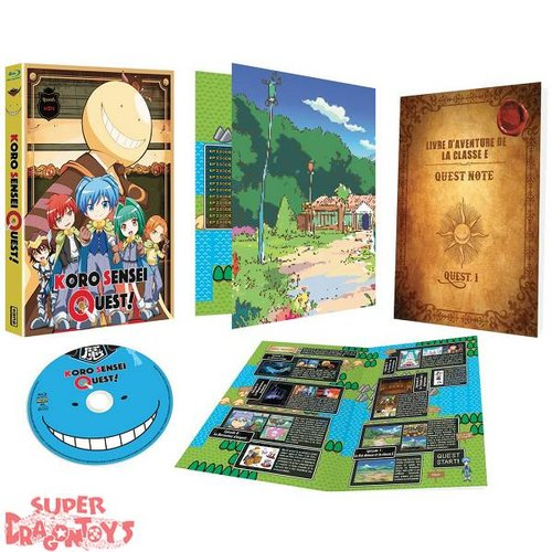 KANA HOME VIDEO ASSASSINATION CLASSROOM : KORO SENSEI QUEST ! - INTEGRALE - COFFRET BLU RAY