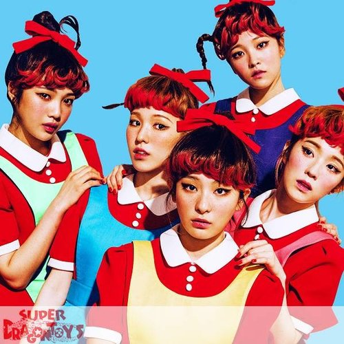 RED VELVET - THE RED - 1ST ALBUM