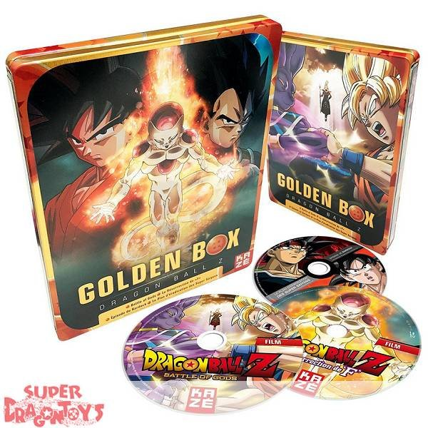 "DRAGON BALL Z - ""GOLDEN BOX"" [2 FILMS + 2 OAV] - EDITION STEELBOX COLLECTOR - COFFRET BLU RAY"