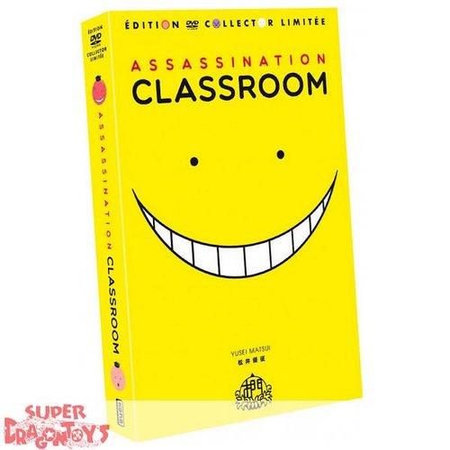 ASSASSINATION CLASSROOM - INTEGRALE [SAISONS 1+2] - EDITION COLLECTOR LIMITEE - COFFRET [FORMAT A4] DVD