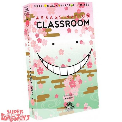 KANA HOME VIDEO ASSASSINATION CLASSROOM - INTEGRALE [SAISONS 1+2] - EDITION COLLECTOR LIMITEE - COFFRET [FORMAT A4] BLU RAY
