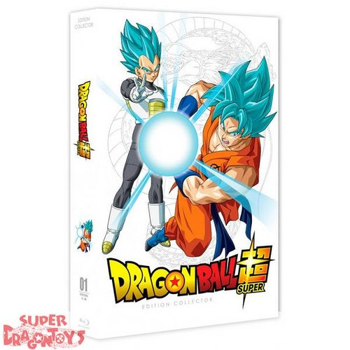 DRAGON BALL SUPER - PART 1 - EDITION COLLECTOR - COFFRET [FORMAT A4] BLU RAY