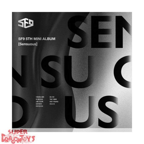 SF9 - SENSOUS - [HIDDEN] VERSION - 5TH MINI ALBUM