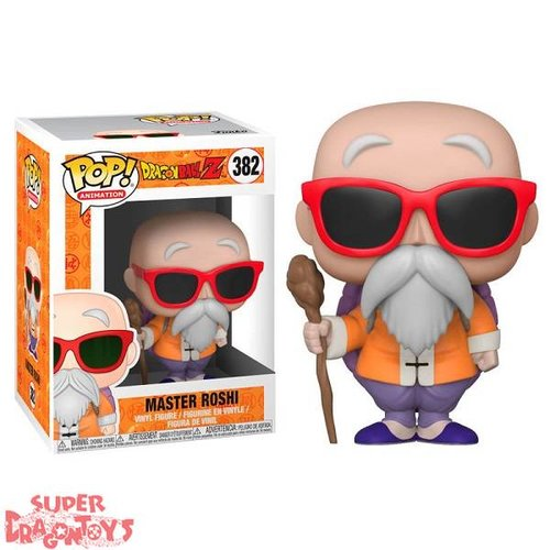 FUNKO  DRAGON BALL Z - MASTER ROSHI (TORTUE GENIALE) - FUNKO POP