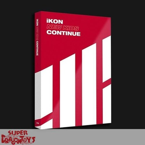 IKON - NEW KIDS : CONTINUE - [RED] VERSION - MINI ALBUM