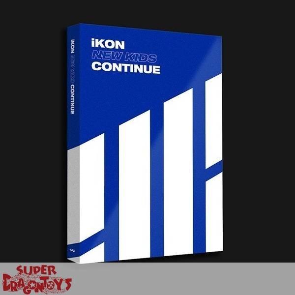 IKON - NEW KIDS : CONTINUE - [BLUE] VERSION - MINI ALBUM