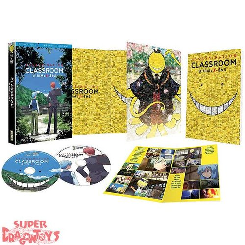 KANA HOME VIDEO ASSASSINATION CLASSROOM - LE FILM : J-365 - EDITION LIMITEE - COMBO [DVD + BLU RAY]